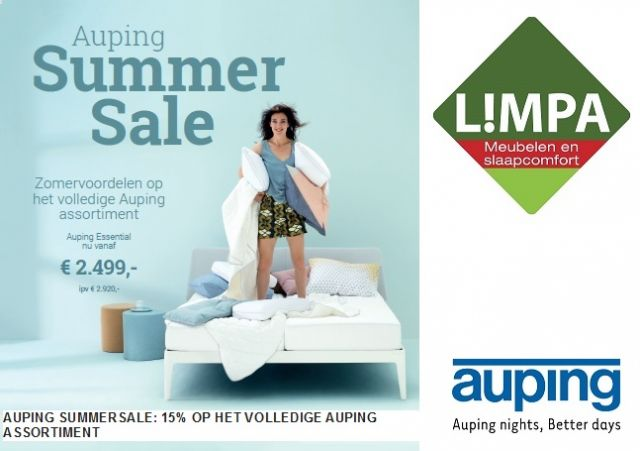 Auping summersale